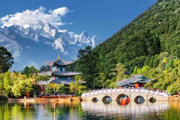 中国 云南 玉龙雪山 Yulong Snow Mountain Lijiang Yunnan China