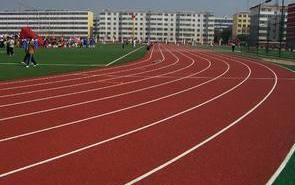 体育场的塑胶跑道内足球场工程施工测量放线