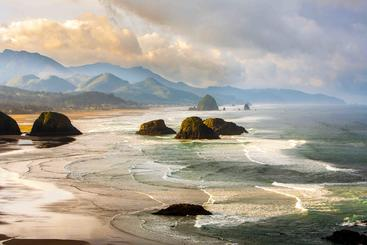 美国 俄勒冈海岸 Oregon coast USA