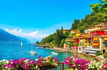 意大利 瓦雷纳镇 Varenna Town Italy