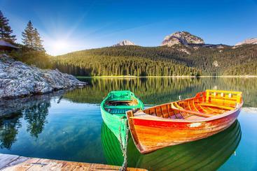 黑山 黑湖 Black Lake Montenegro