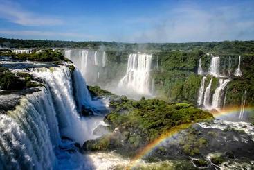 巴西 大伊瓜苏瀑布 Grand Iguazu Waterfalls Brazil