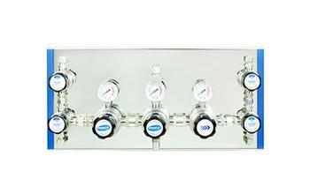 DA22-11 双级中等流量自动切换供气面板