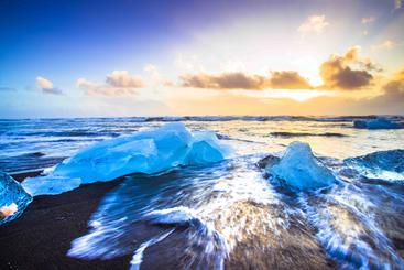 冰岛 钻石沙滩 Diamond Beach Iceland