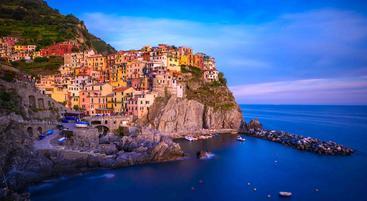 意大利 利古里亚 马纳罗拉 Manarola Liguria Italy