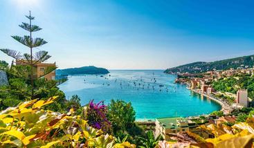法国 尼斯 里维埃拉海岸 Riviera Coast Nice France