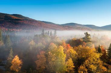 美国 新罕布什尔州 奥米尼山 Omini mountain New Hampshire USA