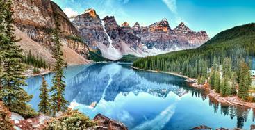 加拿大 梦莲湖 Dream Lake Canada