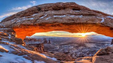 美国 犹他州 梅萨拱门 Mesa Arch Utah USA