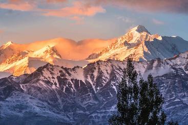 印度 拉达克 雪山 Jokul Ladakh India