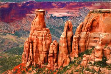 美国 亚利桑那州 纪念碑 Arizona Monument USA