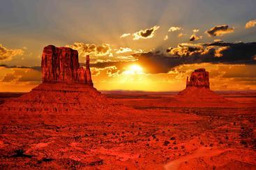 美国 纪念碑谷 Monument Valley USA