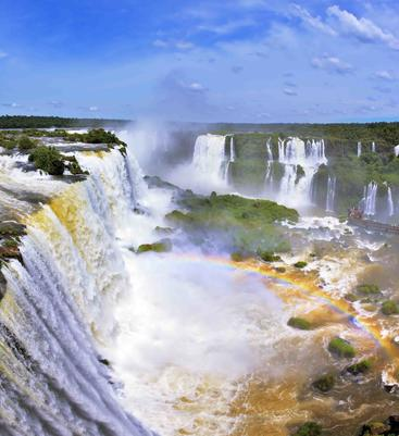 巴西 大伊瓜苏瀑布 Grand Iguazu Waterfalls Brazil