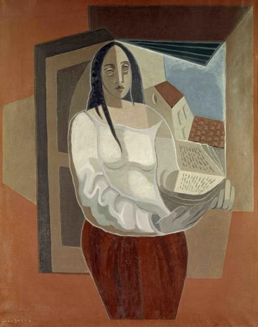 胡安·格里斯《女人与书》Woman with Book Juan Gris__W1201014GPN
