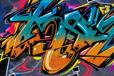 街头涂鸦艺术 Street art of graffiti__W0600003SSK