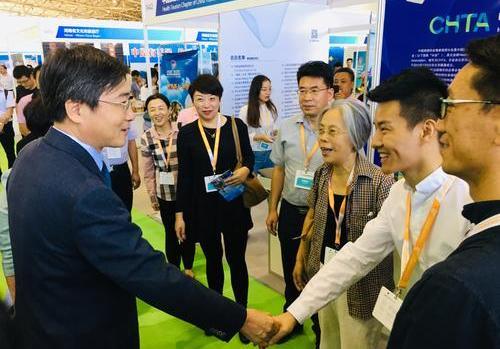 bwin必赢在线健康亮相北京国际健康旅游博览会,高端医疗旅游产品备受关注