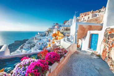 希腊 圣托里尼海岛 Santorini Island Greece