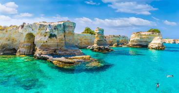 意大利 普里亚 萨伦托海岸 Salento Coast Puglia Italy