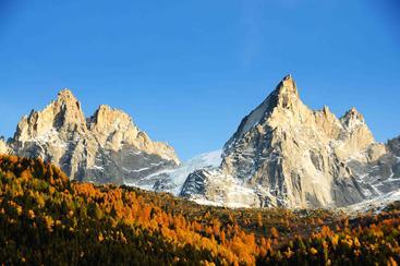 法国 阿尔卑斯山脉 勃朗峰 Mont blanc Alps French