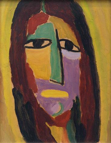 《神秘的头》Mystical head Jawlensky__W1201006GPN