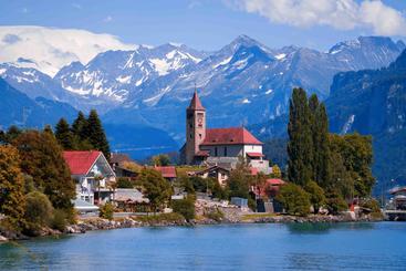 瑞士 布里恩茨湖 Brientz Lake Switzerland