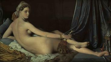 安格尔《大宫女》The Grand Odalisque Ingres__W1101005GPN