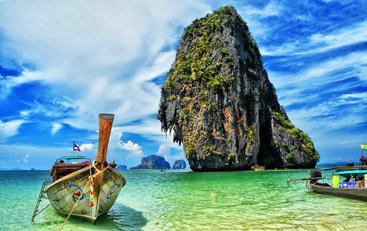 泰国 法拉南洞 Phra Nang Cave Thailand