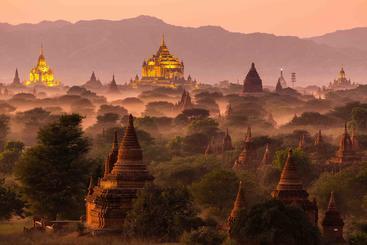 缅甸 蒲甘平原 Bagan Myanmar