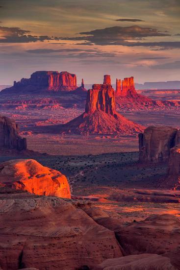 美国 亚利桑那州 纪念碑峡谷 Arizona Monument Valley USA