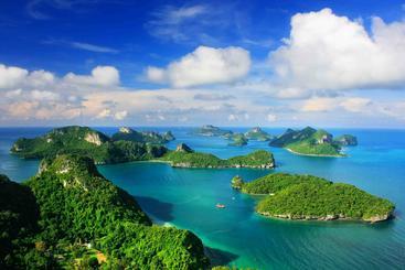 泰国 安永国家海洋公园 Ang Thong National Marine Park Thailand