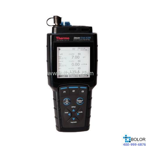 Orion Star? A329 pH 值/ISE/電導率/溶解氧便攜式多參數測量儀 STARA3295 配3支電極