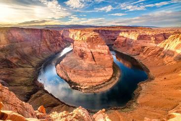 美国 亚利桑那州 马蹄湾 Horseshoe Bend Arizona USA