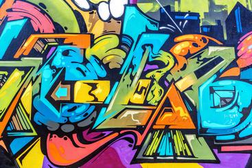 街头涂鸦艺术 Street art of graffiti__W0600004SSK