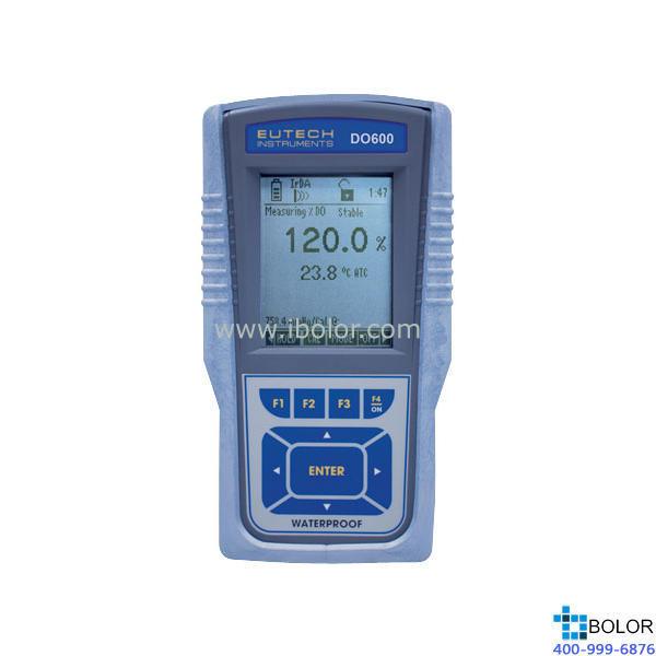 DO600便携式溶解氧仪 0-90.00 mg/L 精度±0.20 mg/L 配原电池法电极 压力和温度、盐度