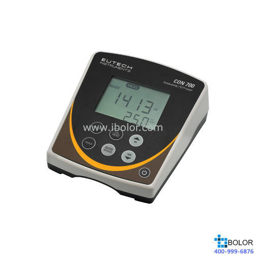 CON700台式电导率/TDS/温度仪10.0uS/cm~20.0 mS/cm 100组数据 标配两电极