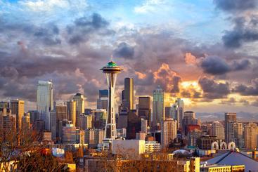 美国 华盛顿州 西雅图 Seattle WA USA