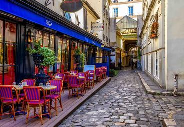法国 巴黎 街道 Street Paris France