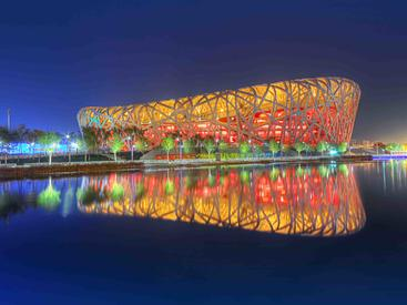 中国 北京 鸟巢 Bird Nest Beijing China