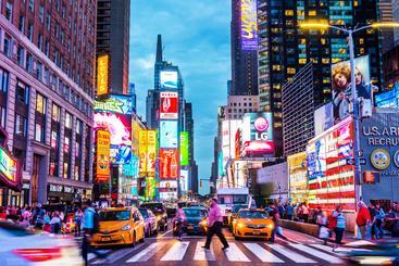 美国 纽约 时代广场 New York Times Square USA