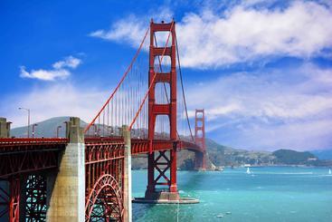 美国 旧金山 金门大桥 Golden Gate Bridge San Francisco USA
