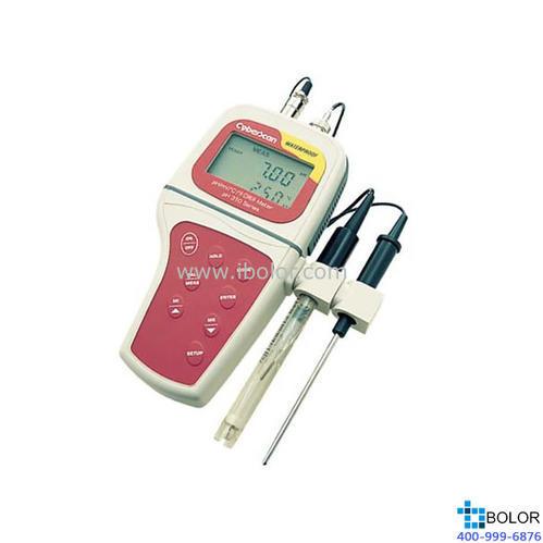 pH310便攜式pH計 IP67全防水 50組數據存儲 自動溫度補償 精度0.01、782339