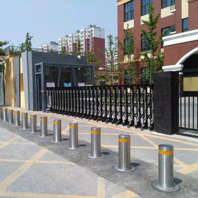 How to use rising bollards?