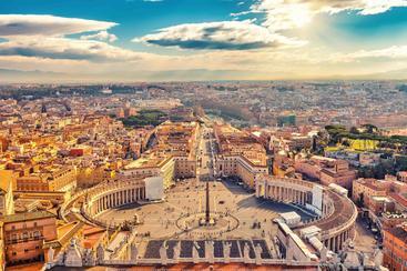 梵蒂冈 圣彼得广场 St. Peter's Square Vatican