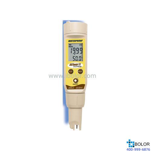 ECTestr11防水型筆式電導率儀 0~2000 μS/cm,0~20.00 mS/cm 雙量程
