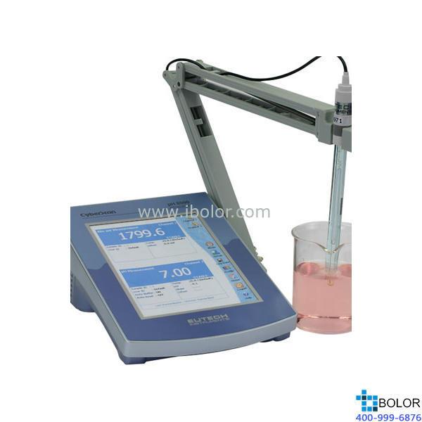 pH6500台式pH/ORP/离子计 彩色触摸屏 1000组数据 RS232,USB,红外接口 标配