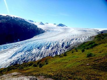 美国 阿拉斯加 苏厄德 冰川 Glacier Seward Alaska USA