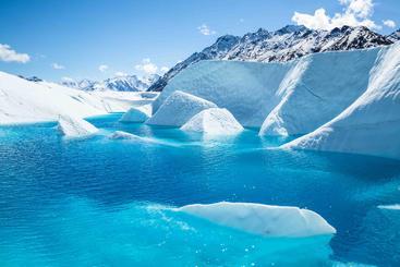 美国 阿拉斯 加马图斯卡冰川 Matuska glacier Alasgama USA