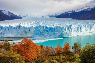 阿根廷 佩里托莫雷诺冰川  Perito moreno glacier Argentina