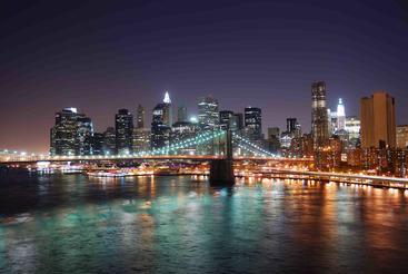 美国 纽约 曼哈顿大桥 Manhattan Bridge New York USA