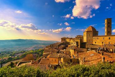意大利 沃尔泰拉镇 Volterra Town Italy